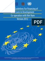 UN – EU Guidelines For Financing of Local Costs In Development Co-operation with VietNam Version 2012