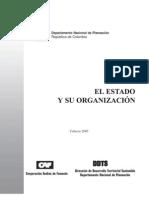 Mod. El Estado y Su Organizacion - Leccion Evaluativa 2 Admon Publica