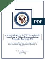 Huawei-ZTE Investigative Report (FINAL)
