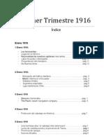 1er. Trimestre 1916