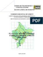 Plan Vial Departamental Participativo de Loreto 2006-2015