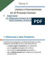 4.  Diligencias Iniciales de Investigación