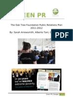 oaktree pr report