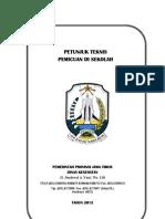 Petunjuk Teknis Pemicuan di Sekolah-Jawa Timur 2012