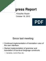 Presentation 2012-10-16