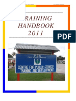 2011 Training Hanbook