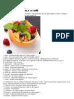 100 Alimente Fara Calorii
