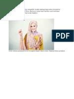 Berkreasi Dengan Pashmina Sangatlah Mudah Apalagi Bagi Anda Yang Gemar Mencoba Pashmina Hijab Style