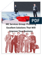 MC Services Group Providing Excellent Solutions That Will Improve Your Business