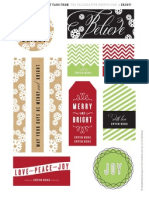 The Celebration Shoppe Christmas Gift Tags