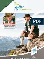 Lenggries Gastgeberverzeichnis 2013