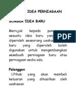 Mencari Idea Perniagaan