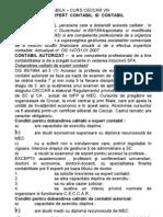 Expertiza Contabila - Curs Ceccar VN Calitatea de Expert Contabil Si Contabil Autorizat