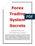 Forex Trading System Secrets - FREE REPORT