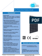 PV Solar Panels 250W