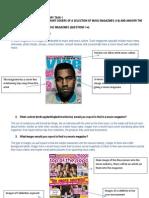 Initial Analysis of magazine