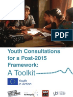 Youth Consultations for a Post-2015 Framework