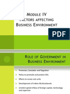 business environment and its impact Impacts of external business environment on organisational performance in the food and beverage industry in nigeria adeoye, abayomi olarewaju.