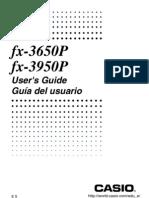 Fx-3650P User Manual