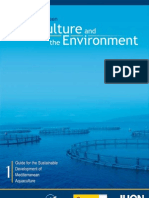 Aquaculture and the Enviromental