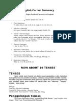 English Corner Summary