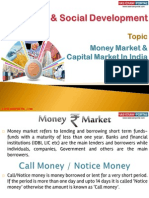 22(A) Money Market and Capital Market in India