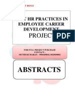 ABSTRACTS - BEST HR PRACTICES IN EMPLOYEE CAREER DEVELOPMENT
