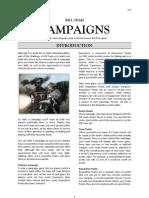 Warhammer 40,000 Kill Team Campaigns
