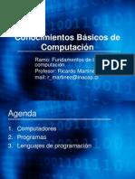 Conocimientos Basicos de Computacion