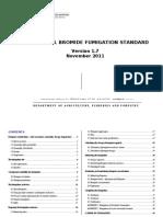 AQIS Methyl Bromide Fumigation Standard
