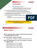 03-603123 1 Avaya SLS Overview June2008