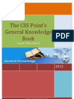 The CSS Point's General Knowledge Book I