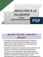 CONCEPCIÓN BÁSICA DE LA FILOSOFÍA