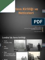 Hava Kirliliği ve Neticeleri (12/11/2012)