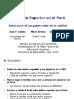 Calidad Educacion Superior 18-07 12 MINEDU