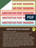 Arsitektur Post Modern (PAPARAN)