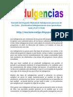 INDULGENCIAS | ALIANZA DE AMOR