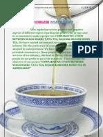 study of tea bands