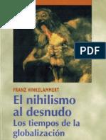 Hinkelammert - El Nihilismo Al Desnudo