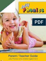 Jolly Phonics Parent Teacher Guide