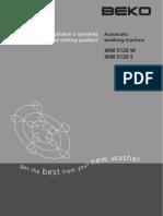 Beko Wm5120 Manual