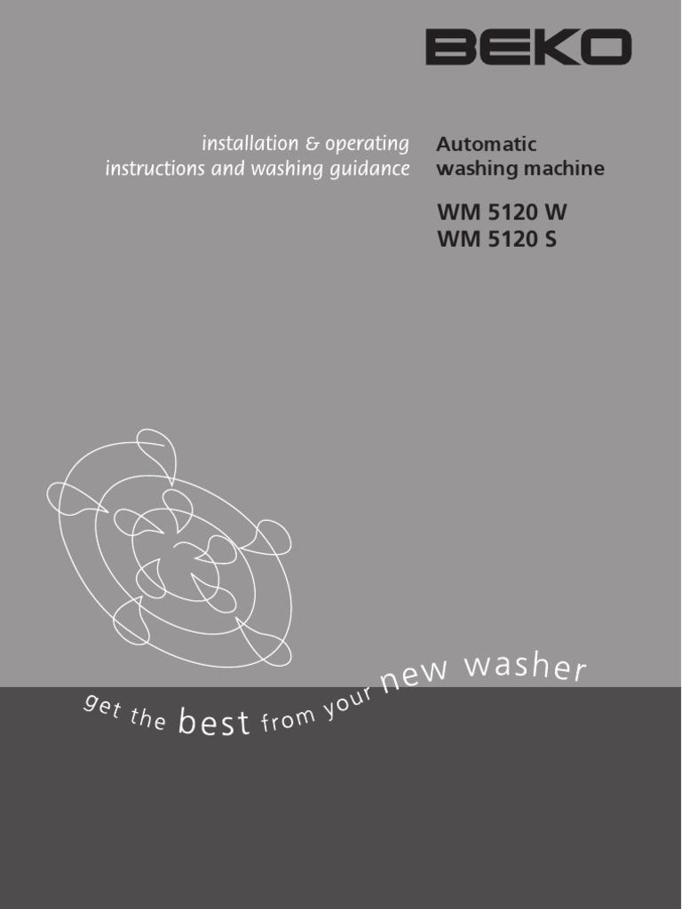 Beko Washing Machine Wiring Diagram Detailed Diagrams Whirlpool Wm5120 Manual Ac Power Plugs And Sockets Motor