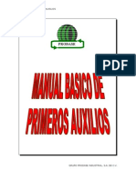 Manual Basico de Primeros Auxilios