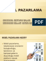MOBİL PAZARLAMA