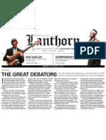 10.18.2012 the Great Debators