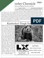 Kimberley Chronicle Issue # 12.