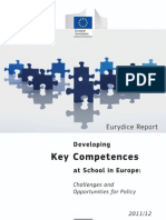 Eurydice 2012_developing Key Competences at School in Europe, Challenges and Opportunities for Policy 2011 - 2012