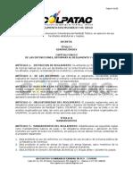 Reglamento de Disciplinario y de Juego (Modificado Sesión Junta Directiva 1 de octubre de 2012)