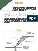 CARACTERIZACIÓN TALUDES - ING. FLORES
