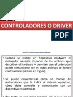 4.0- CONTROLADORES Ó DRIVER